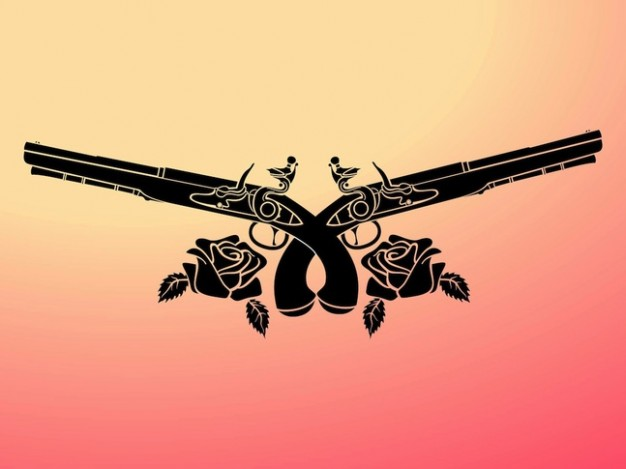 guns-decorated-with-flowers_21-38130574