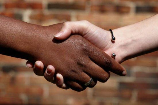 Handschlag - handshake